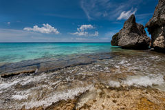 Tropical bay Royalty Free Stock Photography