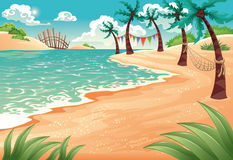 Free Tropical Beach Royalty Free Stock Image - 12005486