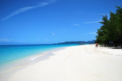Tropical beach. Tropical andaman beach, bamboo island, thailand Royalty Free Stock Image