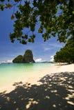 Tropical beach. Andaman Sea, Southern Thailand royalty free stock photos