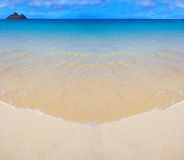 Tropical beach. Photo of tropical beach at a sunny day Royalty Free Stock Image