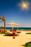 Tropical beach. Stock Photography