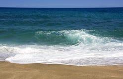 Tropical Beach. At pelio, thessalia Greece Stock Images