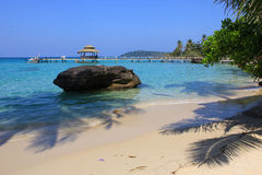 Tropical beach. Of Koh Kood, Thailand Stock Image