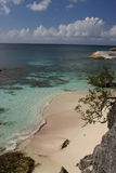 Tropical beach. On island of Bonaire stock photography