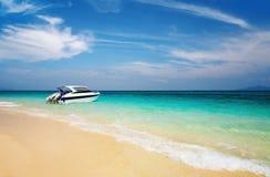 Tropical beach. Bamboo Island, Andaman Sea, Thailand Royalty Free Stock Photo