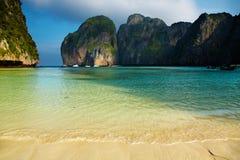 Tropical beach. Maya Bay, Andaman Sea,Thailand Royalty Free Stock Photography