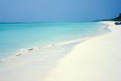 Tropical  beach at the Agatti island. Beautiful tropical  beach at the Agatti island Royalty Free Stock Photos