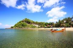 Tropical beach, Andaman Sea, koh Lanta Royalty Free Stock Image