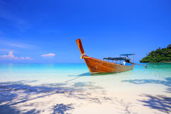 Tropical beach, Andaman Sea koh Rok Stock Photo
