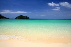 Tropical beach of Andaman Sea at Lipe Islands Stock Photos