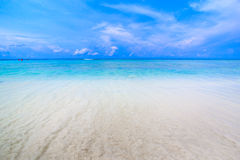 Tropical beach of Andaman Sea in Tachai island Royalty Free Stock Photo