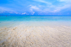 Tropical beach of Andaman Sea in Tachai island Royalty Free Stock Image