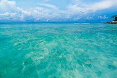 Tropical beach of Andaman Sea in Tachai island Royalty Free Stock Images