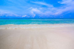 Tropical beach of Andaman Sea in Tachai island Stock Images
