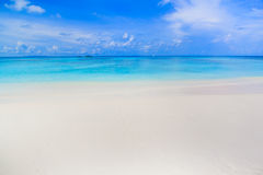 Tropical beach of Andaman Sea in Tachai island Royalty Free Stock Photography