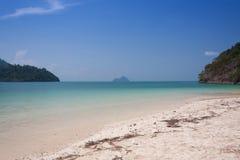 Tropical beach at  Andaman Sea, Thailand.  Stock Image
