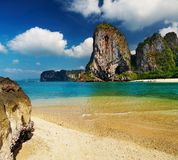 Tropical beach, Andaman Sea, Thailand Stock Photography