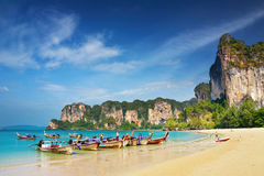 Tropical beach. Andaman Sea, Thailand Royalty Free Stock Image