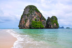 Tropical beach of Andaman Sea, Thailand Royalty Free Stock Photo
