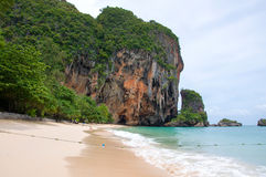 Tropical beach of Andaman Sea, Thailand Stock Photos