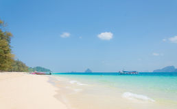 Tropical beach Andaman Sea, Thailand Stock Photos