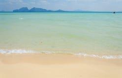 Tropical beach Andaman Sea, Thailand Stock Photography