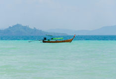 Tropical beach Andaman Sea, Thailand Royalty Free Stock Images