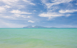 Tropical beach Andaman Sea, Thailand Royalty Free Stock Image