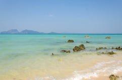 Tropical beach Andaman Sea, Thailand. Stock Photos