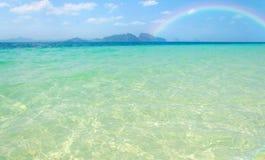Tropical beach Andaman Sea, Thailand. Royalty Free Stock Photo
