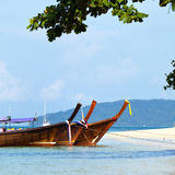 Tropical beach, Andaman Sea, Thailand Royalty Free Stock Photo