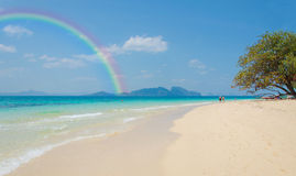 Tropical beach Andaman Sea, Thailand Royalty Free Stock Photo