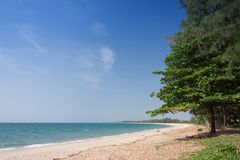 Tropical beach at  Andaman Sea, Thailand.  Stock Photos