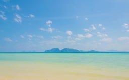 Tropical beach Andaman Sea, Thailand. Royalty Free Stock Photos