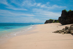 Tropical beach in Bali Royalty Free Stock Image