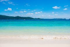 Tropical beach at Banana beach, Coral Island, Koh Hey Stock Photos