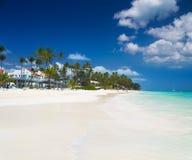 Tropical beach Bavaro Stock Images