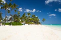 Tropical beach Bavaro Stock Photography