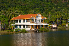 Tropical beach. Beautiful beach in island , Thailand Royalty Free Stock Image