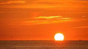 Tropical beach at beautiful sunset. stock video