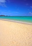 Tropical Beach - Bellow's Beach, Hawaii stock photo