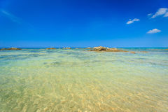 Tropical beach and blue sky, Andaman sea Thailand Royalty Free Stock Images