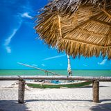 Tropical beach in Brazil Royalty Free Stock Photo