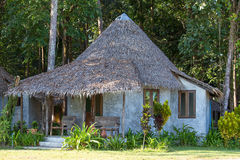 Tropical beach bungalow , Thailand . Stock Photography
