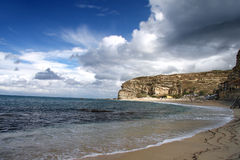 Tropical beach, Calabria, Italy Stock Image