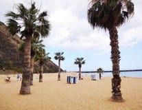 Tropical beach, Canarian Islands Stock Photo