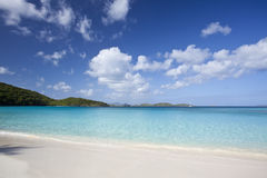Tropical beach in the Caribbean Royalty Free Stock Photography