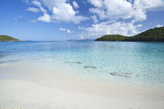 Tropical beach in the Caribbean Royalty Free Stock Photo
