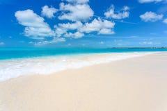 Tropical beach in Cayo Largo island Royalty Free Stock Photos